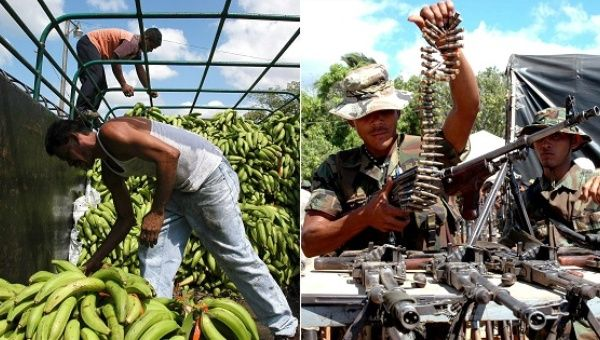 Chiquita paid right-wing death squads to protect its business interests in Colombia between 1997 and 2004.