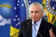 Michel Temer faces his lowest approval ratings since being installed as president of Brazil last year.