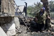 The scale of destruction in the region continues to escalate as only last month damages caused by shelling destroyed dozens of homes.