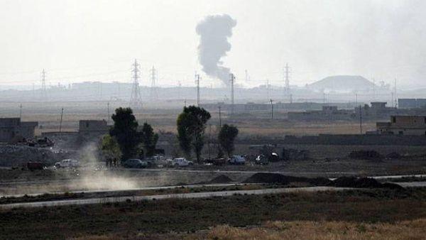 Presuntamente hubo al menos cinco ataques aéreos.