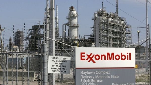 A view of the Exxon Mobil refinery in Baytown, Texas September 15, 2008.
