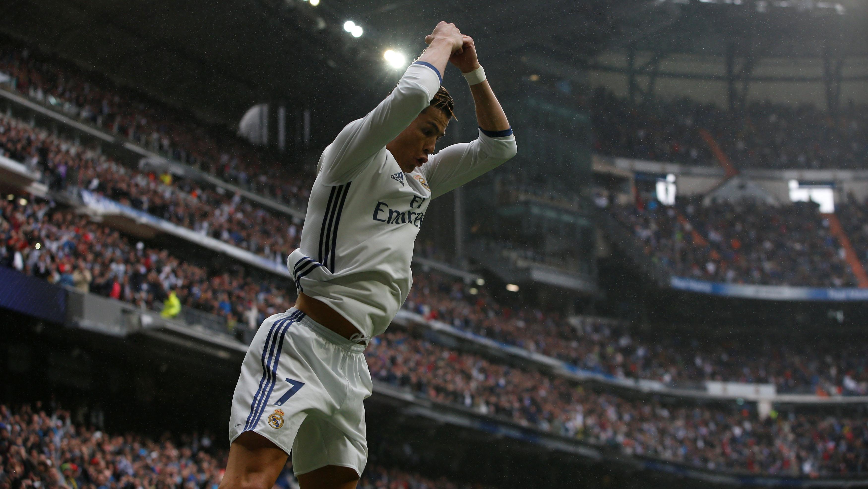 Cristiano, goleador histórico de las 5 primeras ligas europeas