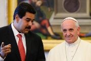 Maduro supports the call for dialogue made by the head of the Catholic Church, Pope Francis.