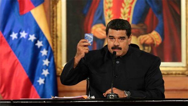 """""""Creo que la inmensa mayoría de los venezolanos somos gente de paz"""", aseveró Maduro."""
