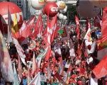 Brazilian workers expressed their opposition to Temer's anti-labor reforms massively in the streets on May Day.