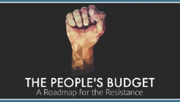 "The Congressional Progressive Caucus has unveiled its fiscal year 2018 budget, titled ""The People's Budget - A Roadmap for the Resistance."""