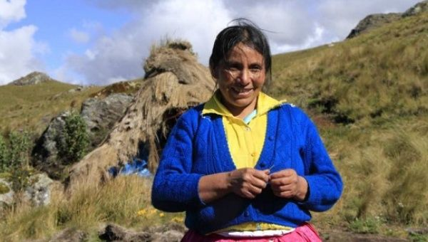 Maxima Acuna has been fighting mining giants for years.