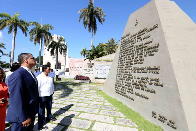 A monument to the principles of the Cuban Revolution as outlined by the late Fidel Castro
