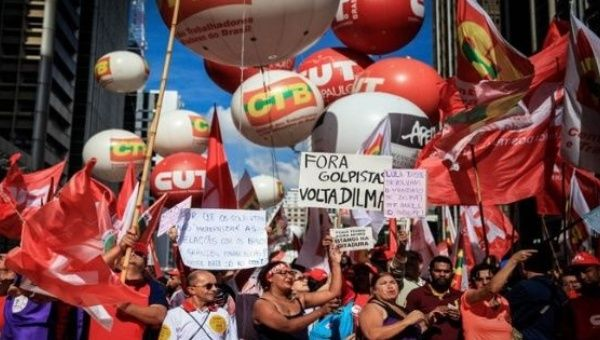 Brazilian trade unions are gearing up for more protests this month.
