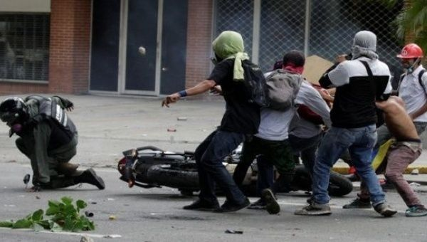 Opposition protesters have occupied Venezuelan streets for over a month.