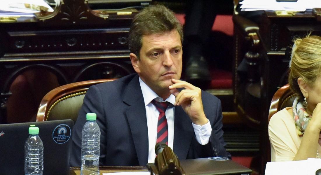 Diputado Massa: Argentina retrocede en DD.HH.; Macri calla
