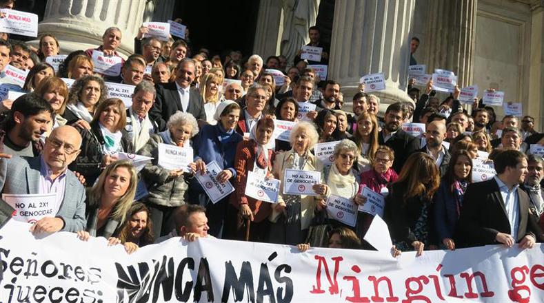 """""""Los delitos de lesa humanidad no son delitos comunes, no prescriben"""", advirtió Nora Cortiñas, integrante de la Línea Fundadora de Madres de Plaza de Mayo"""