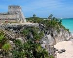 Archaeological Zone of Tulum, Quintana Roo.