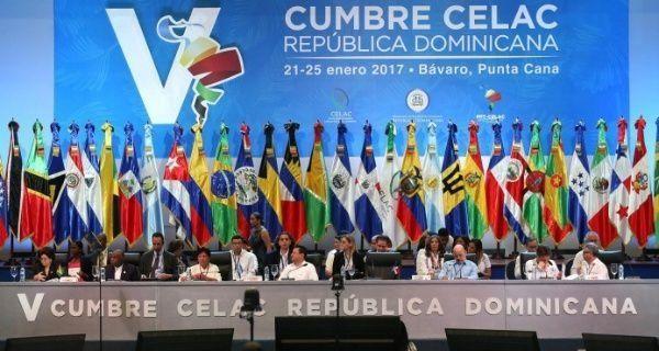 La CELAC reúne a 33 países latinoamericanos y del caribe