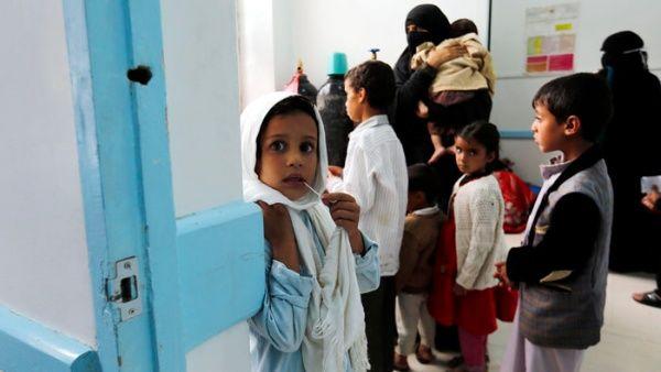 Resultado de imagen para El brote de cólera en Yemen