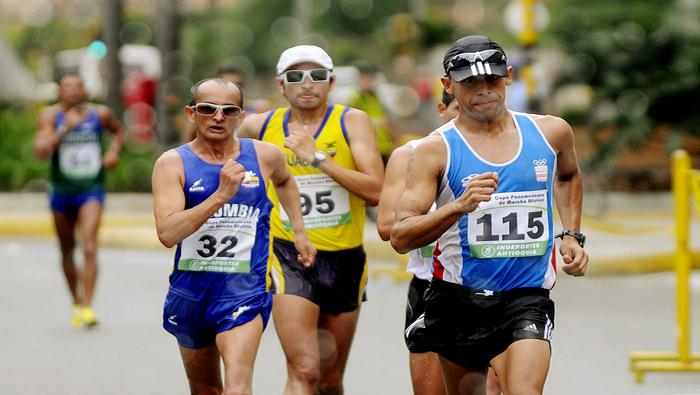 Más de 150 atletas participan en la Copa Panamericana de marcha