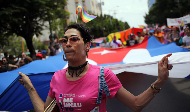The Cuban people celebrate their advances toward increased tolerance, respect and inclusion.
