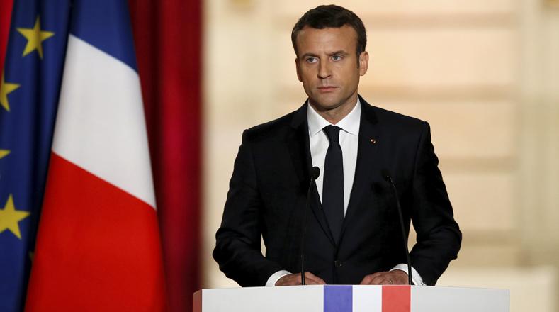 Resultado de imagen para El presidente de Francia, Emmanuel Macron.
