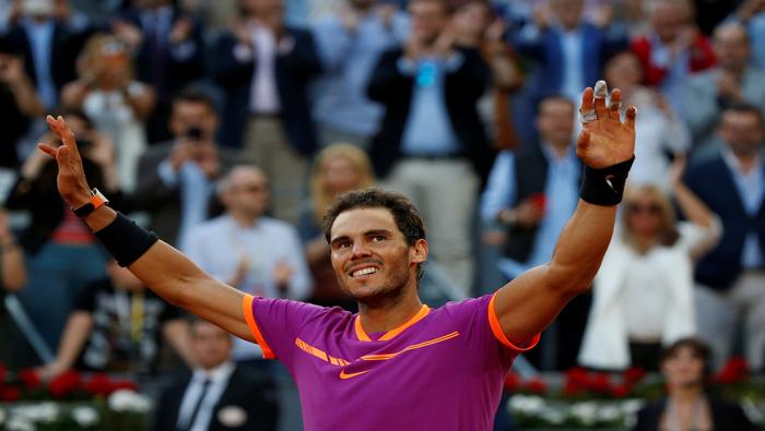 Rafael Nadal asciende al cuarto puesto de ranking ATP