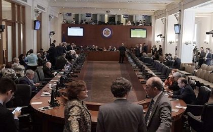 OAS sets date for meeting on Venezuela.