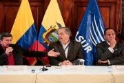 Outgoing Ecuadorean President Rafael Correa is hosting a second round of peace talks between the ELN and the Colombian government.