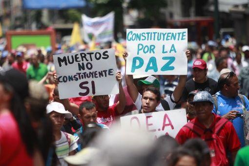 Venezolanos reafirman su confianza en la Revolución bolivariana