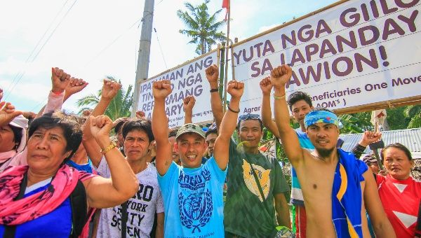 """The strong unity and collective action of farmers would not let … oligarch greed prevail,"" Peasant of the Philippines said in a statement."