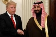 U.S. President Donald Trump and Saudi Deputy Crown Prince and Minister of Defense Mohammed bin Salman