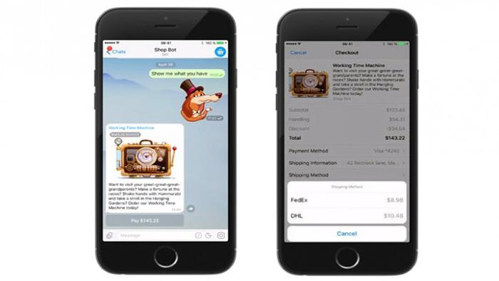 Telegram agrega pagos, videomensajes y opción de vista rápida