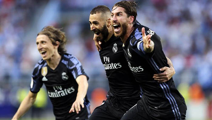 Real Madrid gana la liga española