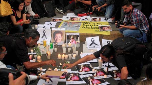 En lo que va de 2017 al menos ocho periodistas han sido asesinados.
