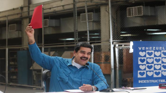 Maduro convoca a una gran marcha por la paz en Venezuela