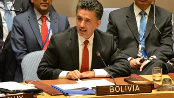 Bolivia presidirá el Consejo de Seguridad de la ONU en junio