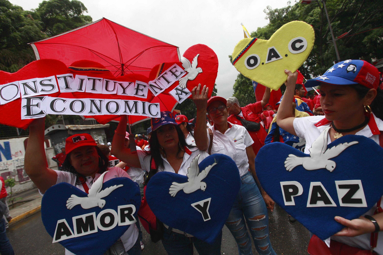 Clamor de paz en el pueblo revolucionario de Venezuela.