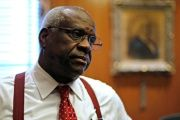 Justice Clarence Thomas voted to strike down North Carolina's congressional map.