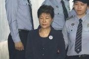 Park is South Korea's the first democratically elected president to be removed from office.