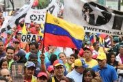 Thousands were expected to join the government's call for march in support of peace and the Constituent Assembly process in Venezuela.