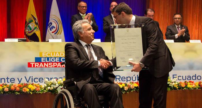 Presidente de Ecuador suprime seis ministerios de coordinación