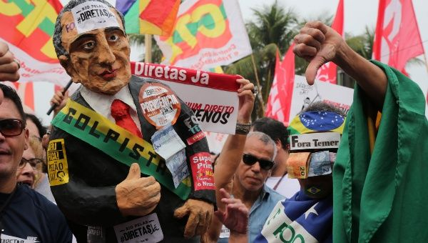 Popular protests against corruption have intensified in recent weeks in Brazil.