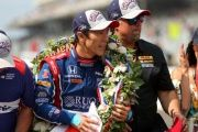 Sato won the 101st staging of the Indy 500 by holding off multiple-times champion Helio Castroneves in the final laps.