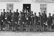 The 107th U.S. Colored Infantry at Fort Corcora.
