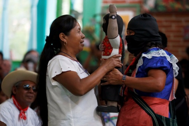 "Maria de Jesus Patricio ""Marichui"" Martinez is the first candidate to be supported by the Zapatista Army of National Liberation  in over 2 decades"