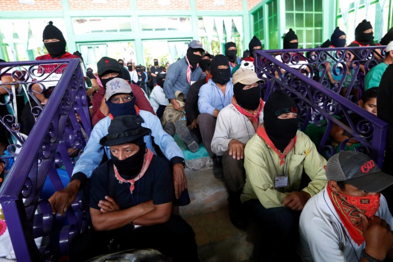 The Zapatista Army of National Liberation, known by it
