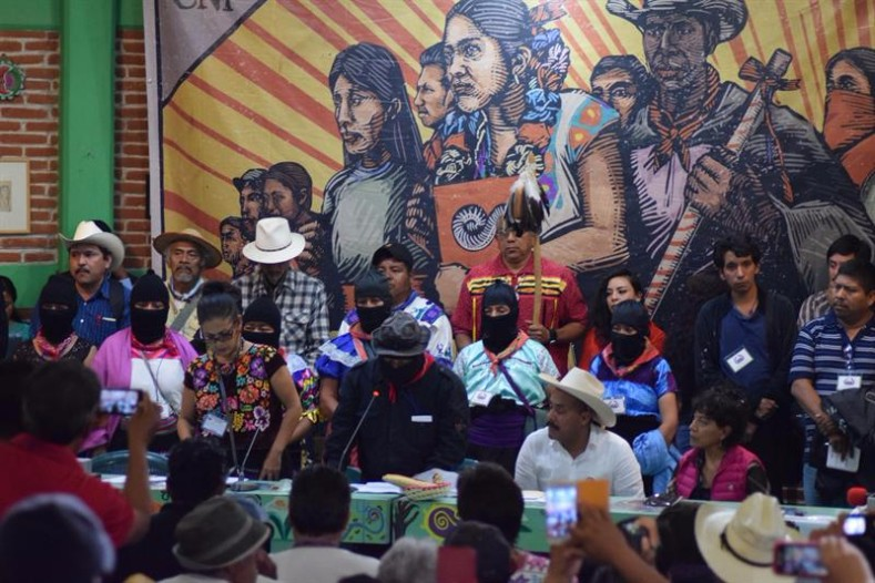 National Indigenous Congress began Friday and concluded Sunday, in San Cristobal de las Casas in the southeastern state of Chiapas, Mexico