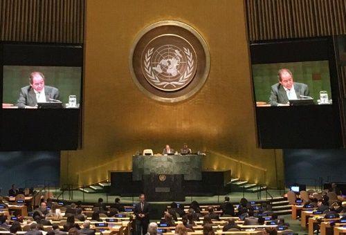 """""""Venezuela derrota a EE.UU. y su obsesión imperial en elección ONU para presidir Comisión de Misiones de Paz, Descolonización y Palestina"""", dijo la canciller Delcy Rodríguez."""