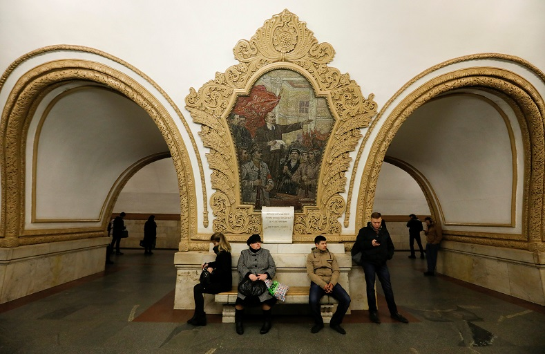 Going Undergound: The Moscow Metro | Multimedia | teleSUR ...