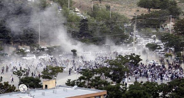 El atentado surge luego de las manifestaciones en contra del Gobierno del presidente de Afganistán, Asharf Ghani.