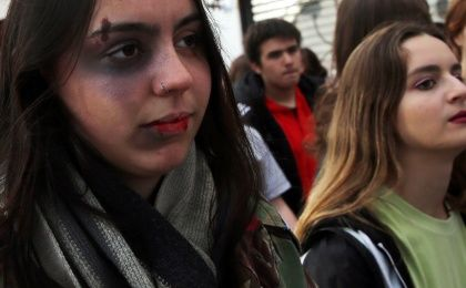 Argentina Protests Against Violence Versus Women