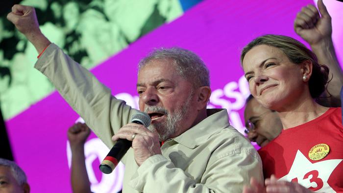 PT renueva su liderazgo y exige renuncia del presidente de facto brasileño