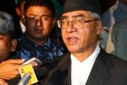 Deuba previously served as prime minister from 1995 to 1997, 2001 to 2002 and 2004 to 2005.